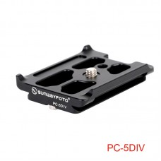 PC-5DIV Quick Release Plate QR Plate Photography Accessories For Canon EOS 5D Mark IV