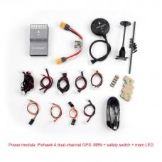 Holybro Durandal H7 Open Source Flight Controller w/ Pixhawk4 Power Management Board GPS Module