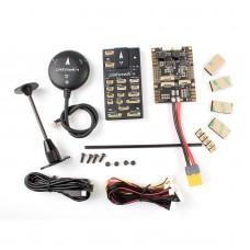 Pixhawk4 Flight Controller Plastic Version w/ PM07 Power Management Board M8N LED Buzzer GPS Module