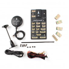 Pixhawk4 Flight Controller Plastic Version PX4/APM Open Source Firmware w/ M8N LED Buzzer GPS Module