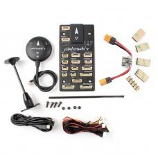 Pixhawk4 Flight Controller Plastic Version w/ PM02 Power Management Board M8N LED Buzzer GPS Module