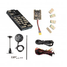 Pixhawk4 Flight Controller Aluminum Version w/ PM07 Power Management Board M8N LED Buzzer GPS Module