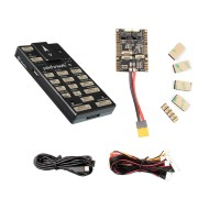 Pixhawk4 Flight Controller Aluminum Version PX4/APM Open Source Firmware w/ PM07 Power Module Board