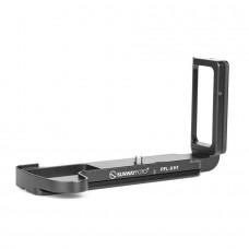 PFL-XH1 Custom L Plate Bracket Reliable Camera L Bracket Aluminum Alloy For Fujifilm X-H1 Camera