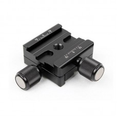 DDB-53 Bidirectional Quick Release Plate Clamp Length 54.5mm For For Ball Head Tripod