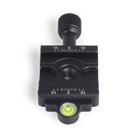DDC-42L Quick Release Clamp Screw Knob Clamp Jaw Length 42mm For DSLR Tripod Ball Head