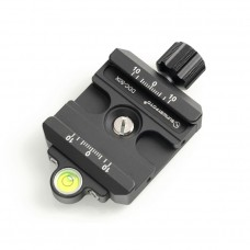 DDC-50X Screw Knob Clamp Quick Release Clamp Jaw Length 48mm For DSLR Tripod Ball Head