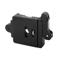 DDC-60LR Lever Release Clamp Quick Release Clamp Jaw Length 60mm For DSLR Tripod Ball Head