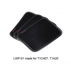 3pcs LWP-01 Tripod Leg Warmer Cover Removable Magic Tape 195 x 140mm Accessories For T1C40T T1A20