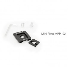 MPP-02 Clamp Plate Mini Plate Photographic Tripod Accessories For Quick Release Clamps Rails