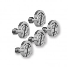 "5pcs QRS-01 Quick Release Plate Screw Stainless Steel Camera Screws 1/4""-20 For Tripod QR Plates"