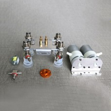 Robotic Arm Backlash Four Suction Cups Mechanical Arm Manipulator Vacuum Pump DIY Kit Unassembled