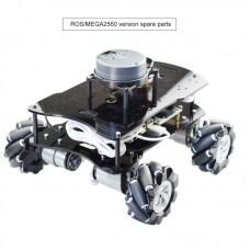 4WD Smart Robot Kit Unassembled Programmable Secondary Development For Raspberry Pi (ROS/MEGA2560)