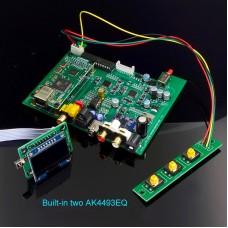 SU9 DAC Decoder Board Headphone Amplifier Dual AK4493 DSD512 Standard Board without USB Card Shell