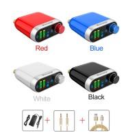 Bluetooth 5.0 Digital Power Amplifier Class D HiFi Amplifier 100W Bluetooth/Wired/USB Input w/ Power Adapter+Cables
