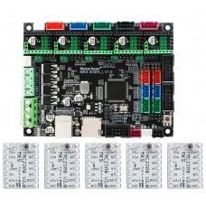 Makerbase MKS SGen_L V1.0 3D Printer Control Board 32 Bit Motherboard w/ 5pcs TMC2208V2.0