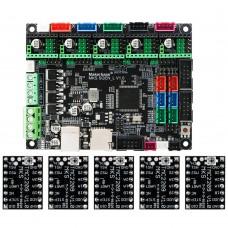Makerbase MKS SGen_L V1.0 3D Printer Control Board 32 Bit Motherboard w/ 5pcs TMC2209