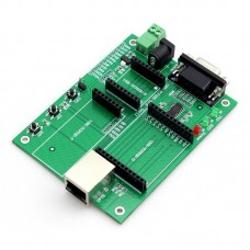 Serial Port to Ethernet Test Board Network to Serial Port Module RJ45 to TTL Network Port TCP232-T2