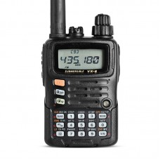 For YAESU VX-6R Dual Band Transceiver UHF VHF Radio IPX7 Mobile Walkie Talkie For Driving Outdoors