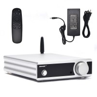 PA-06 100Wx2 Power Amplifier DAC Bluetooth 5.0 CSR8675 Assembled + Remote Control + 32V Power Supply