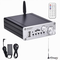 Smart Play 2.1 200W 2.1 Channel Amplifier Bluetooth 5.0 HiFi Assembled with FM Antenna Power Supply