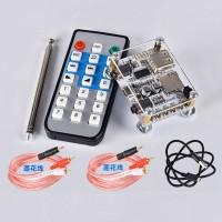HF231 APP Bluetooth 5.0 Receiver Board Remote Control Bracket Radio Antenna 2 RCA Cables Power Cable