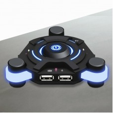 K2 Bluetooth Gamepad Receiver USB Adapter PC Adapter For PS3 Players Mouse Keyboard Accessories