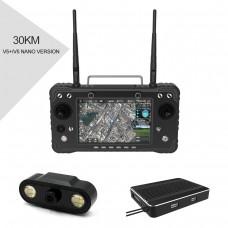 H16 Pro 30km HD Video Transmission System Remote Controller Support HDMI for RC Drone V5+/V5 Nano Flight Controller