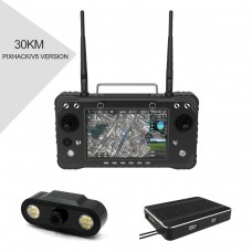 H16 Pro 30km HD Video Transmission System Remote Controller Support HDMI for RC Drone Pixhack Flight Controller