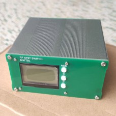 RF SP8T Switch 10K-2.5G Single Pole Eight Throw CNC Program Control RF High Frequency Microwave Switch