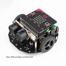 Valon-I Programming Robot Car Mobile Platform Smart Car Support MicroBit Line Patrol Advanced Version Unassembled