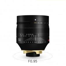 TTartisan 50mm F0.95 Lens Full Frame Super Aperture Lens for Leica M Mount M9 M10 Camera Lens
