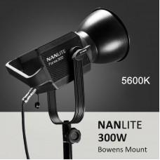 Nanlite Forza 300W LED Photography Light 5600K Fill Light for Video Studio Photography Lighting