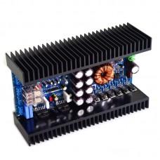 68W*4 LM3886 Amplifier Board HiFi Power Amp Board Assembled w/ Heat Sink For Car DC 12V Power Supply