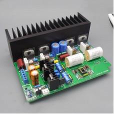 MS-6 HiFi Power Amplifier Board 100W+100W LM3886 Amplifier w/ Op Amp Preamp without Shell Transformer