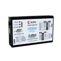 Xilinx Downloader USB Download Cable 3 in 1 Altera Lattice Xilinx Mode FPGA CPLD Development Board
