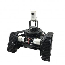 Smart Robotic Car Track Crawler Robot Tracked Car WiFi Remote Control Video Transmission Assembled