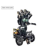 Bionic Mechanical Programming Robot DIY Kit Mobile Manipulator Palm Robotic Arm Unassembled
