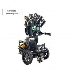 Robotic Arm DIY Kit Bionic Mechanical Programming Robot Mobile Manipulator Palm Wireless Debugging Unassembled