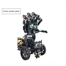 Bionic Robotic Arm DIY Kit Mobile Manipulator Palm Mechanical Programming Robot w/ MP3 Playing Dance Unassembled