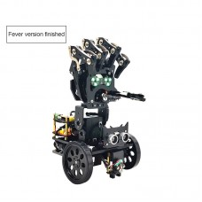 Bionic Robotic Arm Mobile Manipulator Palm Mechanical Programming Robot w/ MP3 Playing Dance Assembled