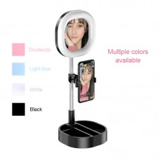 Y3 Desktop Makeup Mirror With Fill Light Mobile Phone Clamp For Selfie Makeup Livestream Vlog
