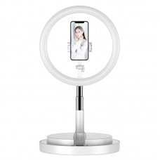 Y2 Ring Fill Light with Stand Phone Holder For Vlog Influencer Makeup Artist Photographer Studio