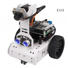 GoGoPi Smart Robot Car Kit Unassembled AI Tracking Robot Car w/ Control Board For Raspberry Pi 4B 2G