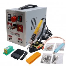 709AD 220V Pulse Spot Welder Battery Welding Soldering Machine 3in1 for 18650 with 71A Welding Pen