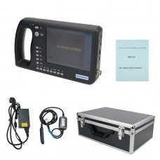 Portable Veterinary Ultrasound Scanner 6.4 Inch LCD Screen for Large Animals Cow Horse Donkey GDF-K7