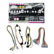 PICO-BOX X7-ATX-500W Power Supply Board 24PIN DC High Power PSU Module with Dual 12V Output Channels