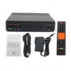 Gtmedia Freesat V7S HD 1080P Satellite Receiver DVB-S2 Support PowerVu Biss Key Cccamd AVS+ USB WiFi