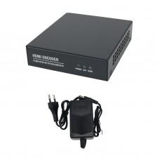 H.265 Encoder H.264 HDMI Video Encoder HDMI To RJ45 Video Card For Live Streaming XE3AV400