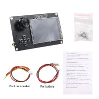 """PortaPack H2 3.2"""" Touch Screen 0.5PPM TCXO Clock For HackRF One SDR Transceiver (Expansion Board)"""